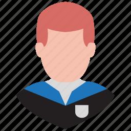 male, man, person, profile, school boy, student, user icon