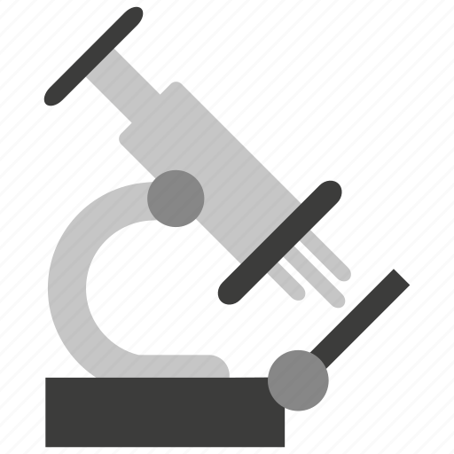 biology, experiment, laboratory, microscope, research, science, test icon
