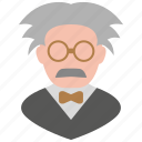 professor, einstein, scientist icon