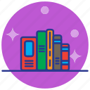 books, education, literature, study icon