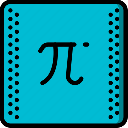 education, knowledge, learning, pi, school, study icon