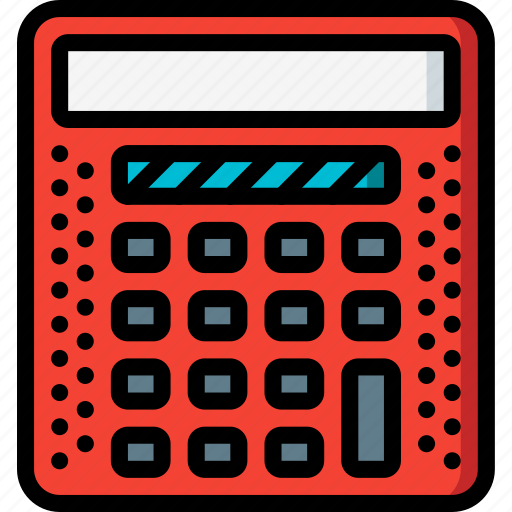 calculator, education, knowledge, learning, school, study icon