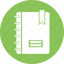 file, notepad, paper, spring icon