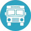 big vehicle, bus, school, vehicle icon