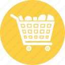 business, buy, cart, shop, shopping, trolley icon