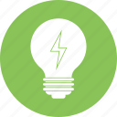 blub, bright, idea, lightbulb, solution icon