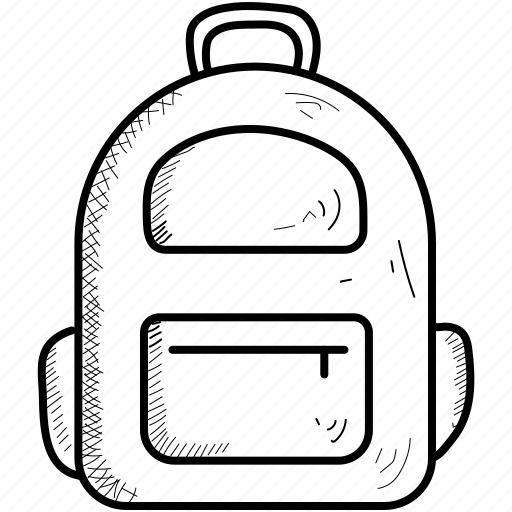 bag, school, student icon