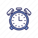 alarm, clock, education, reminder icon