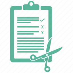 clipboard, note, office, paper icon
