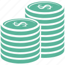 cash, coin, finance, payment icon