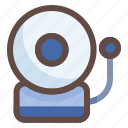 bell, school, education, learn, study, time icon
