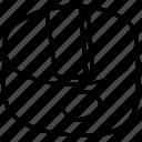 sharpener, school, tool, pencil sharpener icon