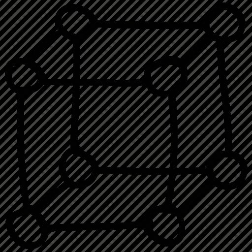 atom, dna, molecule, science icon