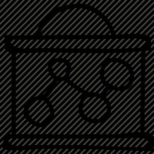 documents, files, folder, molecule icon