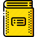 book, education, knowledge, learning, school, study, text icon