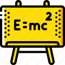 education, equation, knowledge, learning, school, study icon