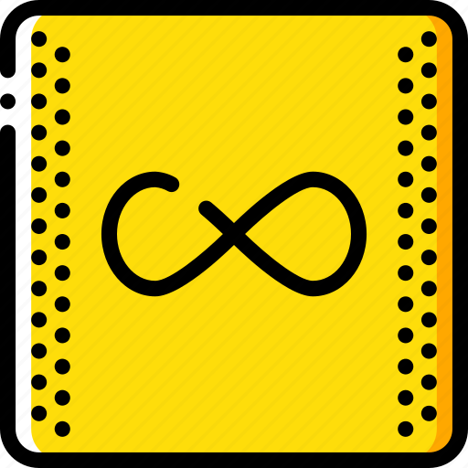 education, infinity, knowledge, learning, school, study icon