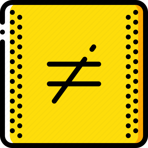 education, equal, knowledge, learning, not, school, study icon
