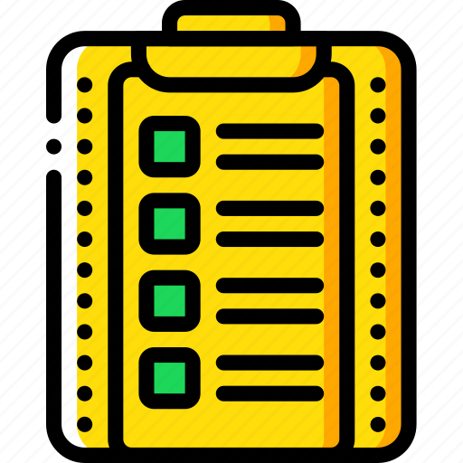 clipboard, education, knowledge, learning, school, study icon