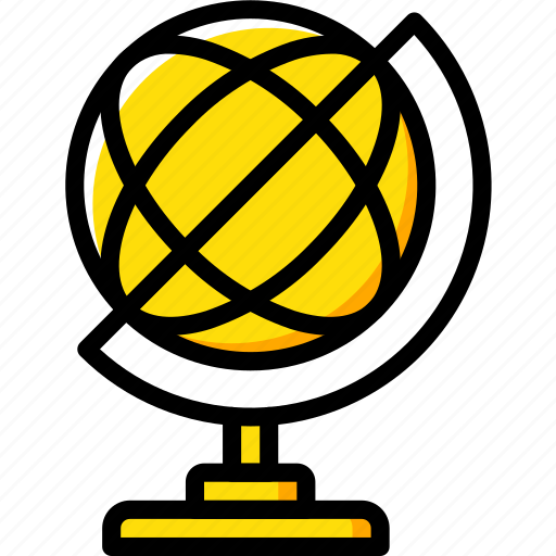 education, geography, knowledge, learning, school, study icon