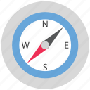 compass, direction, navigation, tool icon