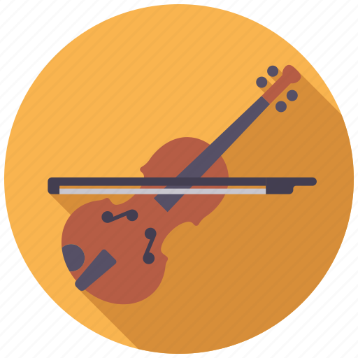 College, education, instrument, music, school, violin icon - Download on Iconfinder