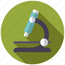 biology, college, education, microscope, school, sciences, university icon