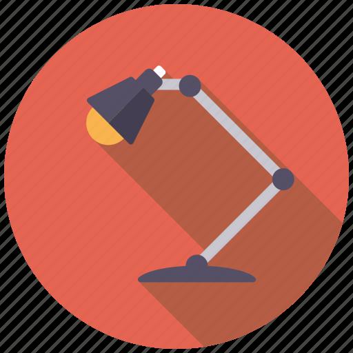 College, desk lamp, education, homework, lamp, school icon - Download on Iconfinder