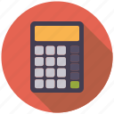 calculator, college, education, mathematics, school icon