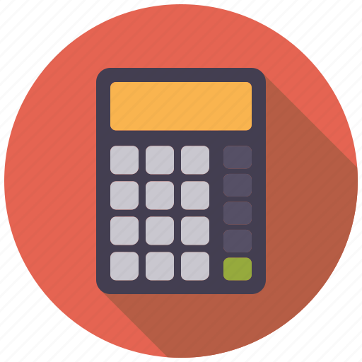 calculator, college, education, mathematics, school icon