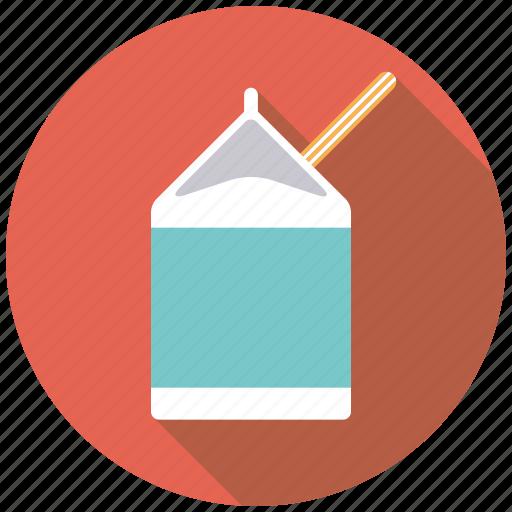 carton, college, drink, education, healthy eating, milk, school icon