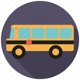 college, education, elementary, school, school bus, traffic, transportation icon