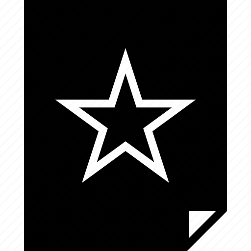 assignment, favorite, star icon