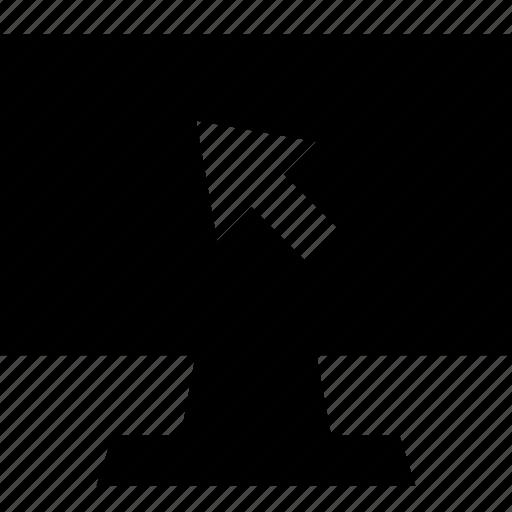 arrow, click, pc, point icon