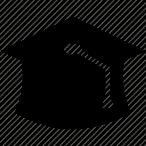 cap, graduation, learn, learning icon
