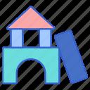 blocks, building, construction, house