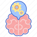 brain, cognitive, intelligence, mind icon