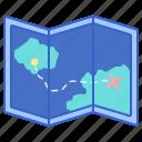 location, map, maps, mark icon