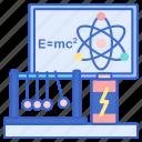 lab, laboratory, physic, science icon