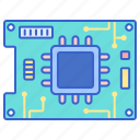 board, circuit, programmable, technology icon