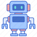 mechanical, robotic, technology icon