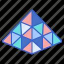 block, game, puzzle, triangle