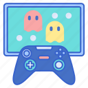controller, game, pacman, video