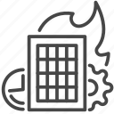 efficiency, organizing, performance, productive icon