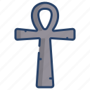 ankh, cross