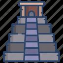 maya, pyramid