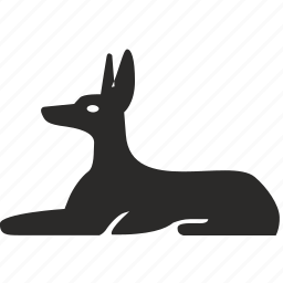 animal, dog, egypt, god, national, saint icon