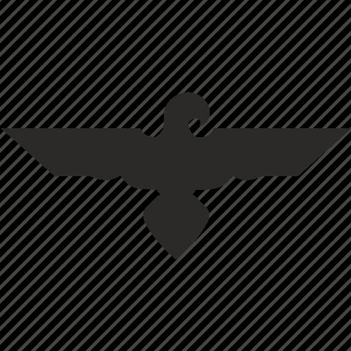 bird, eagle, egypt, god, saint, tattoo icon