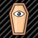 ancient, cartoon, coffin, egyptian, object, pharaoh, tomb