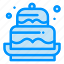 birthday, cake, celebration, decoration, eid icon